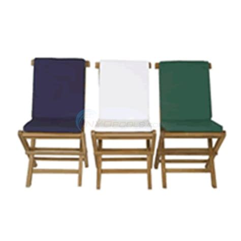 java teak folding chair cushion blue tc19b inyopools