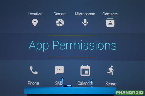 android permission apps in android marshmallow only ask permission for things