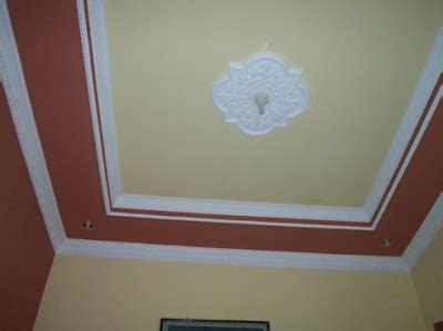 warna plafon gypsum kamar tidur  ruang tamu