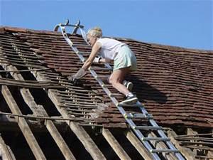 Echelle De Toit : chelle de toit chelle de couvreur chelle de toiture ~ Edinachiropracticcenter.com Idées de Décoration