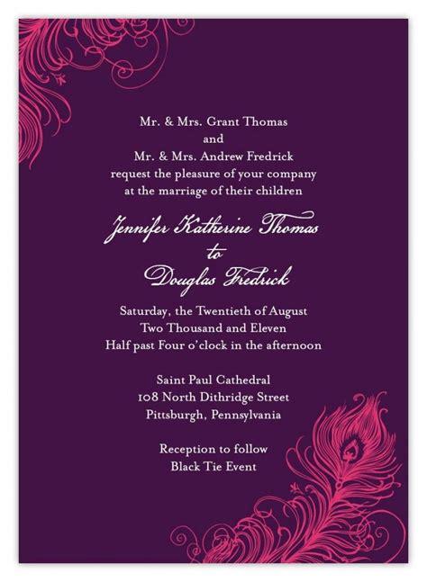 Indian wedding invitation wording template wedding set