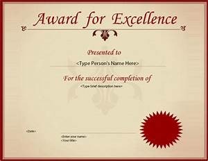 Customizable Award Certificates Certificate Template 33 Download Documents In Pdf Word