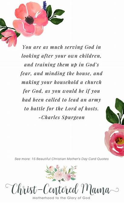 Christian Quotes Serving God Children Spurgeon Prayer