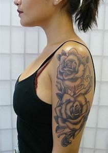 Images Of Rose Sleeve Tattoos Tumblr Golfclub
