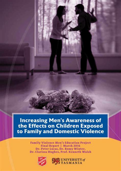 increasing mens awareness   effects