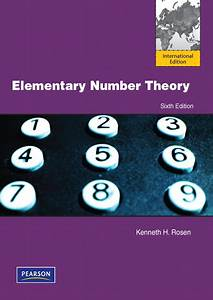 Elementary Number Theory And Its Applications 6th Edition