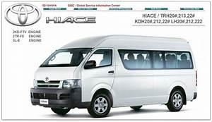 Wiring Diagram Toyota Hiace 2007