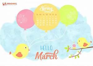 Fondos de pantalla con o sin el calendario del mes de marzo de 2016 Recursos Gratis en Internet