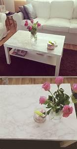 Tisch Lack Ikea : interior diy wohnen marmor tisch mit klebefolie ikea lack serie lovefolio pinterest ~ Orissabook.com Haus und Dekorationen