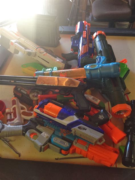 Ok not really a nerf gun, but a truly epic toy gun mod! Less Money, Better Life: NERF Gun Storage (and How I Got ...