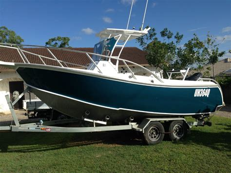Fishing Boat For Sale Qld by Custom Aluminium Plate Fishing Boat Trailer Boats Boats