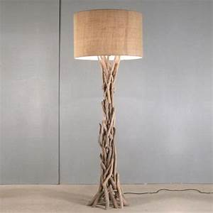 decorative driftwood floor lamp shop floor lamp driftwood With large driftwood floor lamp