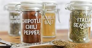 Spice Jar Labels - Svg Cut Files