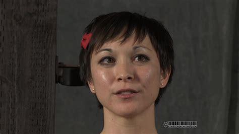 Short Haired Tattooed Brunette Used For Hardcore BDSM Games