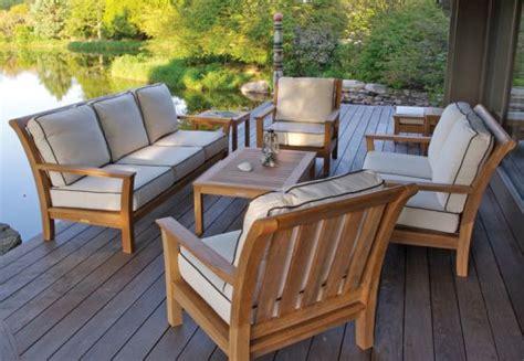 aware   buying teak patio furniture