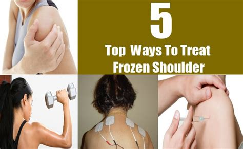 Top 5 Ways To Treat Frozen Shoulder  Top Diy Health Remedies