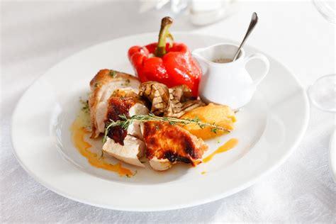 cuisine de de noel menu de noël de chef cuisiner la volaille