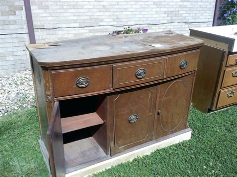 Outdoor Buffet Cabinet Patio Mediterranean With Kitchen