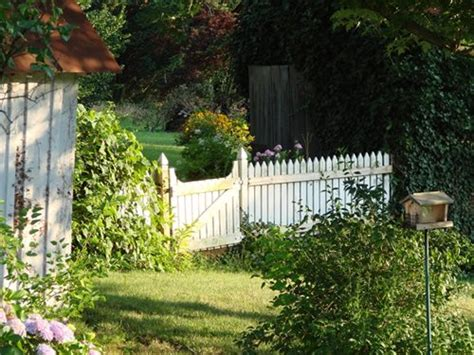 cottage fencing ideas picket fences arbors for a cottage garden landscaping network
