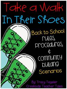 TAKE A WALK IN THEIR SHOES Back to School Rules ...