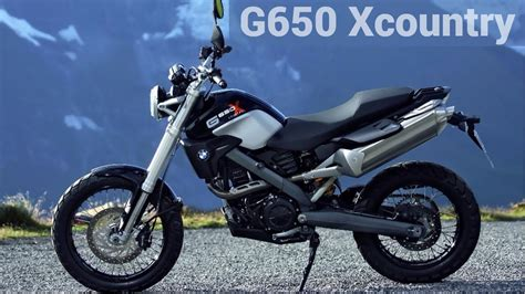 Bmw G 650 Xcountry [20062012]  Review And Ride Youtube