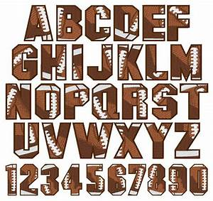Embroidery patterns stylesembroidery patterns embroidery for Football letters and numbers
