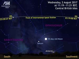 See the International Space Station, Moon and Saturn in ...