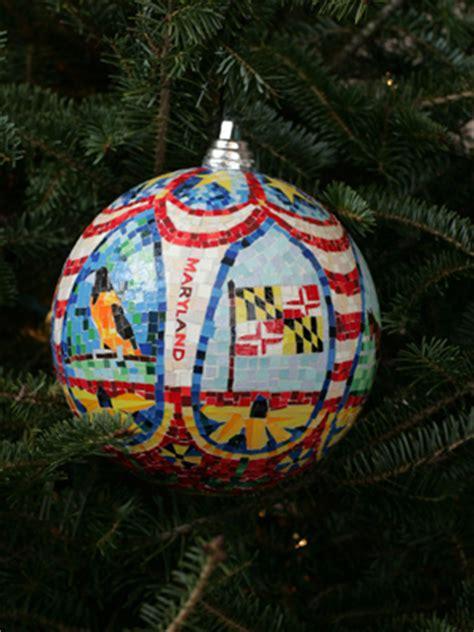 ornaments representing maryland