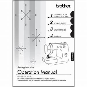 Instruction Manual  Brother Lx2375   Sewing Parts Online