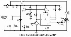 Electronics Street Light Switch  U2013 Electronics Project