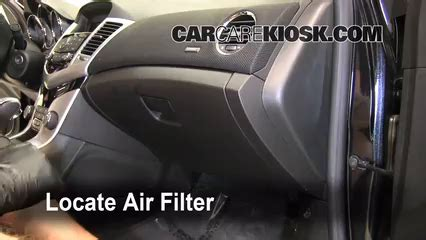 can a bad air filter cause check engine light cabin filter replacement chevrolet cruze 2011 2014 2011