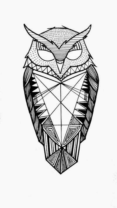 ART and TATTOO: Owl