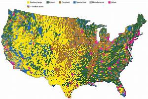 Deeply Trivial  How Land Is Used In The U S