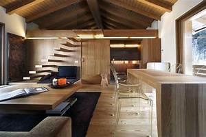 Casa Moderna In Legno Dallo Stile Rustico In Provincia Di Sondrio