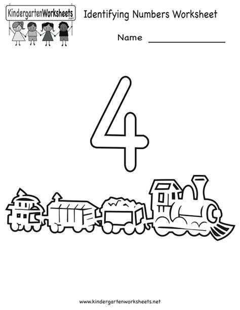 Identifying Numbers Worksheets Kindergarten  1000 Images About Kindergarten Worksheets On
