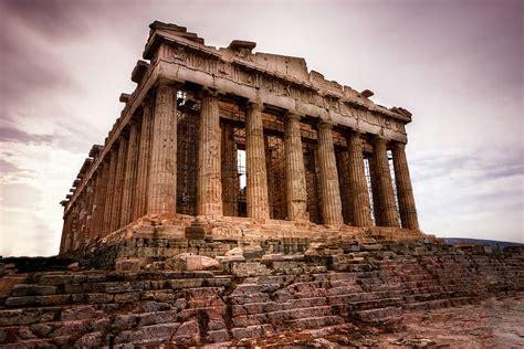 aerial view   parthenon temple  athens greece