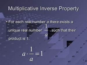 Multiplikative Inverse Berechnen : properties of real numbers ~ Themetempest.com Abrechnung