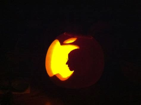 awesome apple themed pumpkin carvings for mactrast