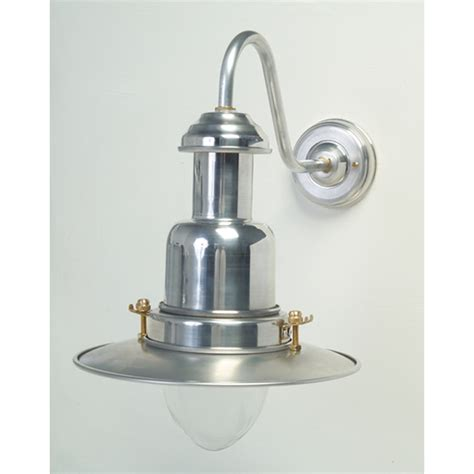 silver fisherman s outdoor wall light