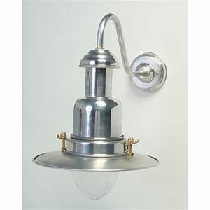 silver fisherman39s outdoor wall light With outdoor wall lights fisherman style