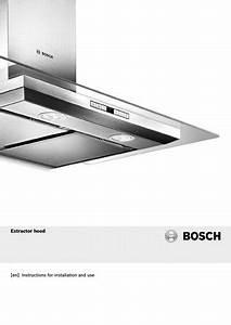 Bosch Standard Chimney Extractor - Hap2412