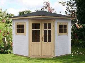 Wochenendhäuser Aus Holz : 5 eck gartenhaus modell sunny a a z gartenhaus gmbh ~ Frokenaadalensverden.com Haus und Dekorationen
