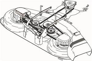 Mower Deck Belt Diagram Gallery