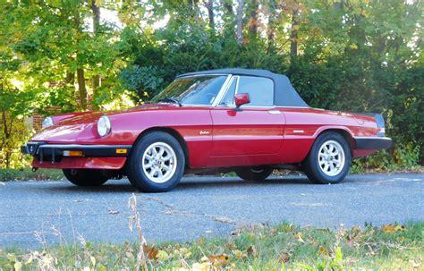 Alfa Romeo Graduate For Sale by 1989 Alfa Romeo Spider Graduate Convertible 2 Door 2 0l