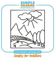 printable house coloring pages colouring  kids
