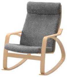 po 228 ng rocking chair lockarp gray scandinavian rocking chairs by ikea