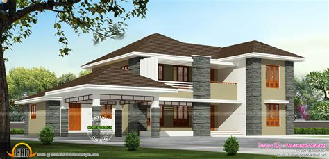 6 bedroom house floor plans 2000 square house kerala home design and floor plans