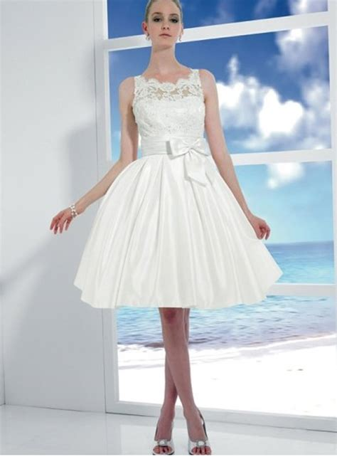 simple short wedding dresses beach styles  wedding dresses