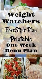 Weight Watchers Smartpoints Berechnen : weight watchers freestyle plan one week menu plan weight watchers program menu planning and ~ Themetempest.com Abrechnung