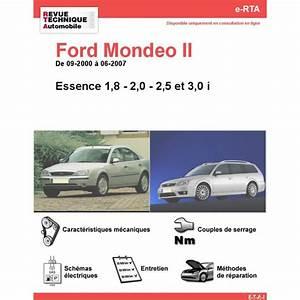 Revue Technique Ford Fiesta Gratuit Pdf : revue technique ford mondeo ii essence rta site officiel etai ~ Medecine-chirurgie-esthetiques.com Avis de Voitures